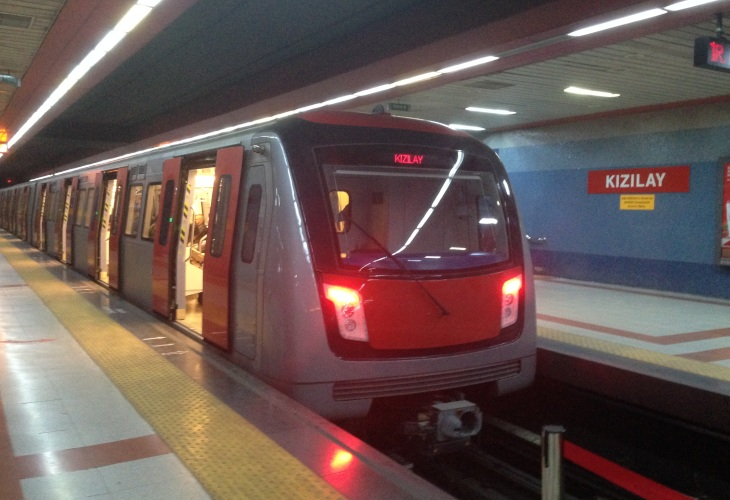 Extension of the M4 line of the Ankara metro